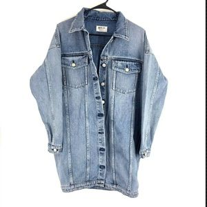 AGOLDE Oversized Boyfriend Denim Jacket